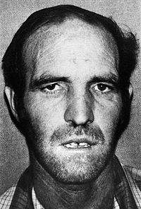 Mug shot of serial killer, cannibal, and necrophile Ottis Toole.