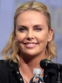 Theron at the 2017 San Diego Comic-Con