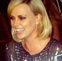 Theron at the premiere of North Country at the 2005 Toronto International Film Festival