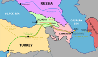 The South Caucasus Pipeline is bringing natural gas through Turkey to Europe