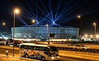 Baku National Stadium was used for the first European Games in June 2015.