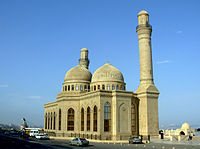 The Bibi-Heybat Mosque in Baku. The mosque is built over the tomb of a descendant of Muhammad.