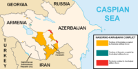Military situation in the Nagorno-Karabakh region prior to the 2020 Nagorno-Karabakh war