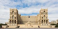 Government building in Baku