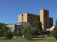 The Canberra Hospital.