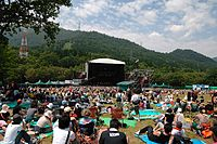 Green Stage of the Fuji Rock Festival