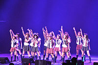 AKB48 has occupied the top spot in the Oricon yearly single sales ranking every year since 2010.