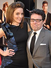Fey with husband Jeff Richmond at the premiere of Date Night in April 2010