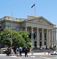 One of many local government seats, Geelong Town Hall