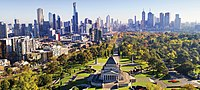 Melbourne, the state capital, is home to more than three in four Victorians.