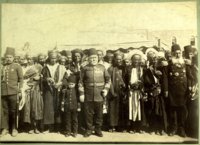 Ottoman soldiers and Yemeni locals