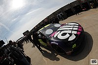 Jimmie Johnson started from pole position.