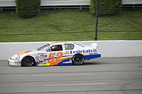 Tom Hessert drove for the team in both 2011 and 2012 in between separate stints at Cunningham Motorsports. Here, he is seen racing at the second Pocono race in 2011.