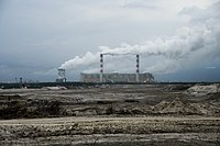 Credit Suisse invests in fossil fuels, including coal-fired power stations.
