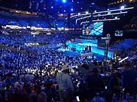 Kravitz performing at the 2016 Democratic National Convention