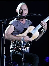 Sting performing in Budapest, 30 June 2011