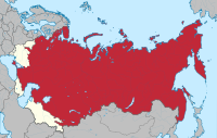 The Russian SFSR in 1924