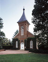 Lee Chapel on the campus of Washington and Lee University