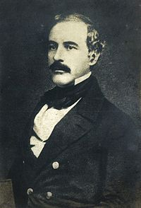 Robert E. Lee around age 43, when he was a brevet lieutenant-colonel of engineers, c. 1850