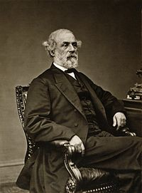 Lee in 1869 (photo by Levin C. Handy)