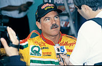 Terry Labonte led the points standings after the race.