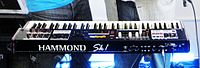 The Hammond SK1 included emulations of electric pianos and other keyboard sounds in addition to organ.