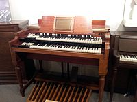 The B-3 was the most popular Hammond organ, produced from 1954 to 1974