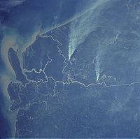 The Rajang River is the longest river in Malaysia