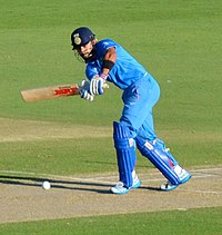 Kohli playing the flick shot during the 2015 World Cup
