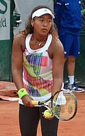Osaka at the 2016 French Open