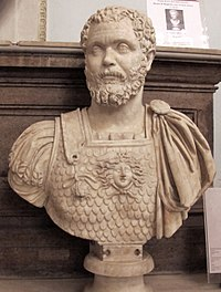 Bust of Clodius Albinus (d. 197), a usurper who was proclaimed emperor after the assassination of Pertinax