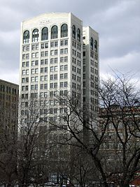 The Kresge Corporation headquarters from 1914 to 1930 (currently named the Kales Building) in downtown Detroit