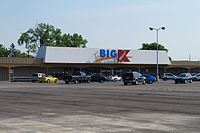 The original Kmart store in Garden City, which closed in 2017 (pictured in 2016). It was demolished in 2020.