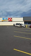 Big Kmart store in Marshall, Michigan in October 2019. The last Kmart store in the state of Michigan. This store is still open as of 2021.