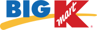 Big Kmart logo. Although discontinued, it remains one of the most common logos on Kmart stores.