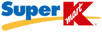 The second Super Kmart logo, used primarily on stores that were built from 1998 to 2000