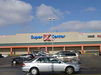 A Super Kmart Center store in Lorain, Ohio in February 2013. This store closed on September 18, 2016.
