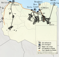 Oil is the major natural resource of Libya, with estimated reserves of 43.6 billion barrels.