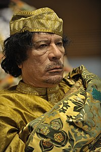 """Muammar Gaddafi gained power in a 1969 coup and was """"leader of the revolution"""" until his overthrow in 2011."""