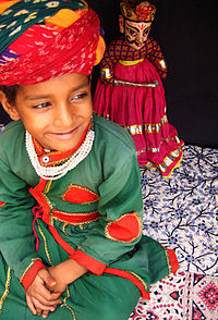Puppeteer from Rajasthan, India