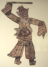 Chinese shadow puppet (Beijing style)