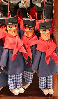 Traditional puppets from Liège, Belgium