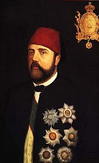 Ismail Pasha, the Ottoman Khedive of Egypt and Sudan from 1863 to 1879.