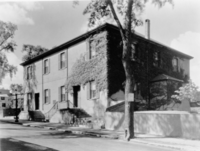 The New Bedford Meeting House, built in 1822, replaced an earlier meeting house on Spring Street.