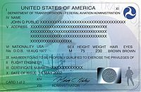 Pilot certification in the United States