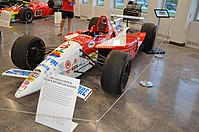 Arie Luyendyk's record-setting Ford Cosworth-powered IndyCar from 1996