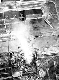 Steam plumes continued to be generated days after the initial explosion