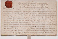 Charter creating Collegiate School, which became Yale College, October 9, 1701