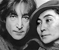 Lennon and Ono in 1980