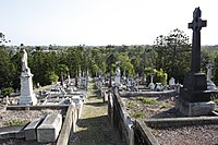 Toowong Cemetery, opened in 1875, Queensland's largest cemetery